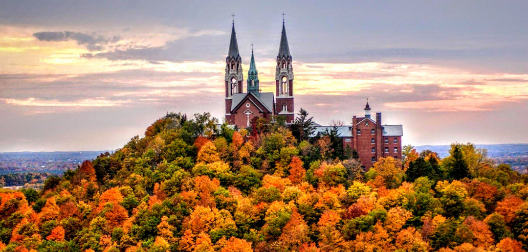Holy Hill Fall Colors Day Trip & Wisconsin Automotive Museum Thursday October 14th 2021